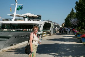 Swiss Saphire: our home for the cruise
