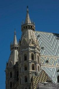 Twin side towers