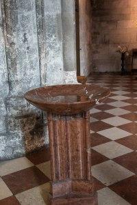 baptismal water