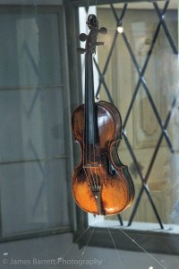 One of Mozart's violins