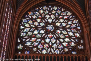 St. Chapelle rose window
