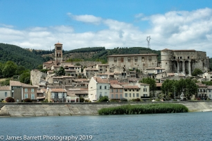 A town on our way to Lyon